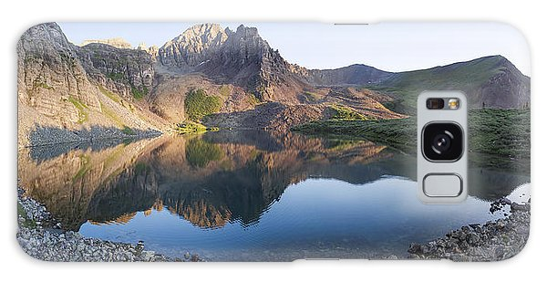 Cathedral Lake Reflection Galaxy Case by Aaron Spong