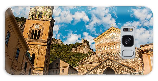 Cathedral Of Amalfi Galaxy Case