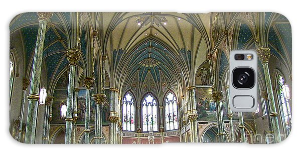 Cathedral Of Saint John The Baptist Galaxy Case by D Wallace