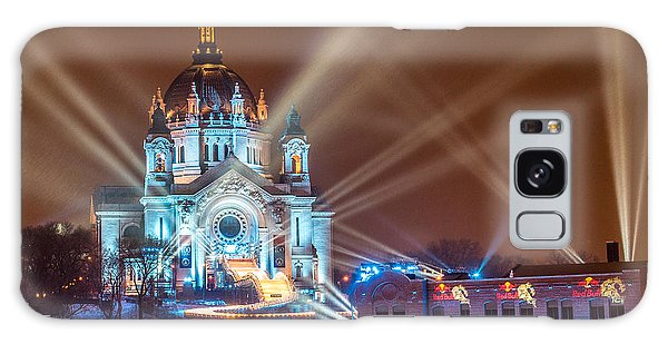 Cathedral Of St Paul Ready For Red Bull Crashed Ice Galaxy Case by Paul Freidlund