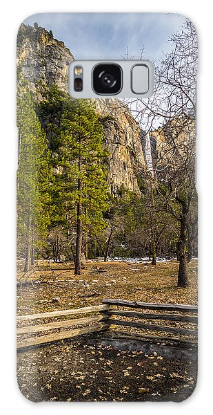 Cathedral Rock And Bridalveil Falls Galaxy Case by Mike Lee