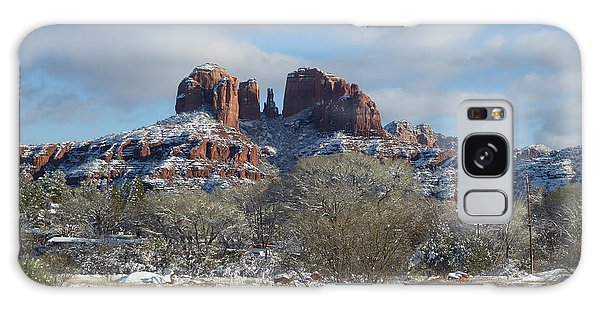Cathedral Rock Sedona Galaxy Case by Marlene Rose Besso