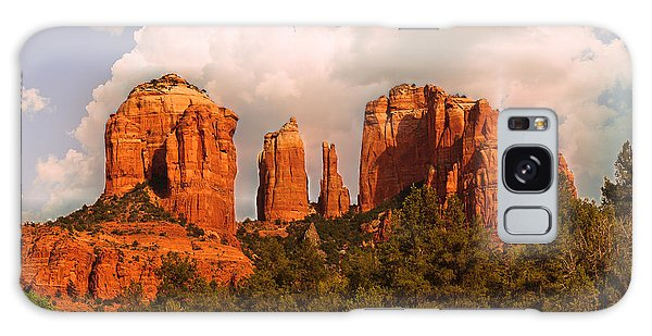 Cathedral Rock Sunset Galaxy Case by Bob and Nadine Johnston