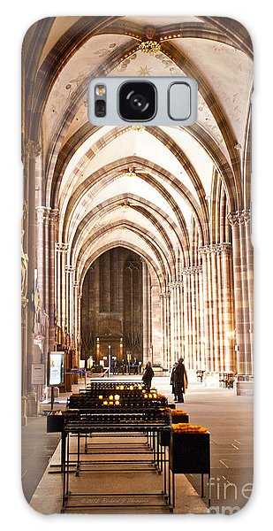 Cathedrale Notre Dame De Strasbourg France Galaxy Case