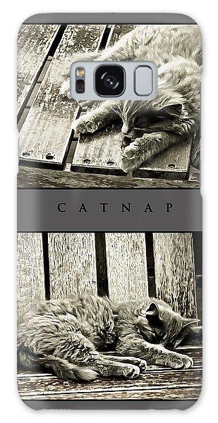 Catnap Galaxy Case by Greg Jackson