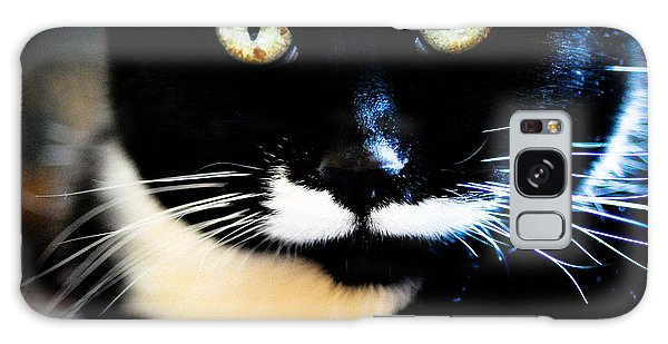 Cats Eyes Galaxy Case by Ronda Broatch