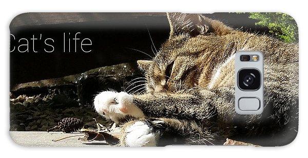 Cat's Life 2 Galaxy Case