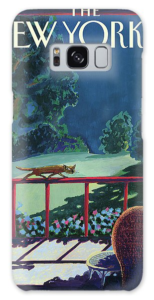 Cats Night Galaxy Case