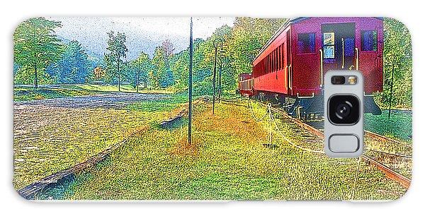 Catskill Mountain Railroad In Autumn Galaxy Case