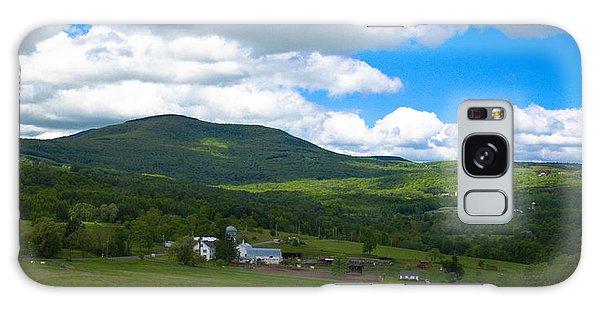 Catskill New York Farm Galaxy Case