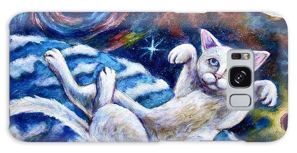 Catstronaught Galaxy Case by Sebastian Pierre