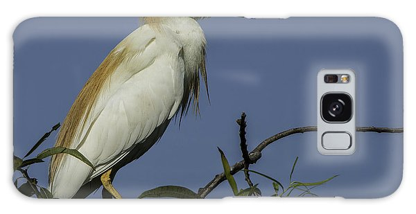Galaxy Case featuring the photograph Cattle Egret Lookout by Donald Brown