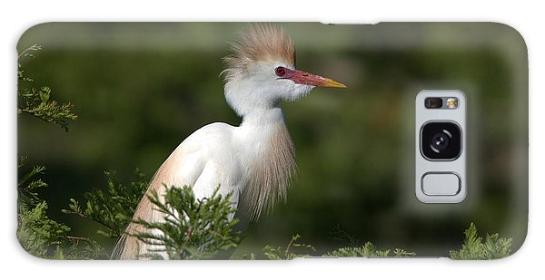 Cattle Egret No. 5 Galaxy Case