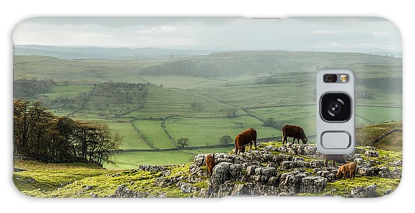 Cattle In The Yorkshire Dales Galaxy Case