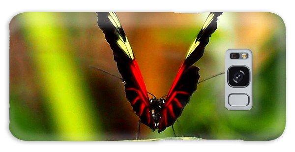 Cattleheart Butterfly  Galaxy Case by Amy McDaniel