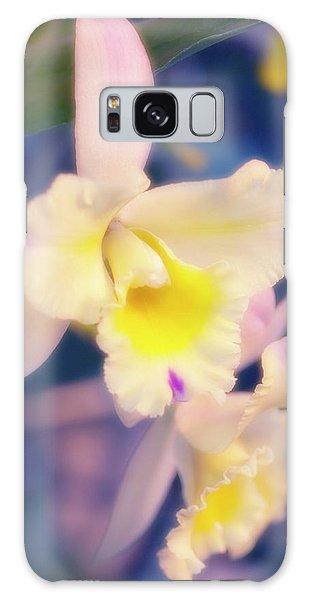 Hybrid Galaxy Case - Cattleya Orchid (cattleya Hybrid) by Maria Mosolova/science Photo Library