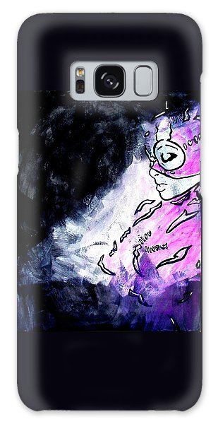 Catwoman Purple Suit Galaxy Case