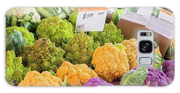 Cauliflower Market Stall Galaxy Case