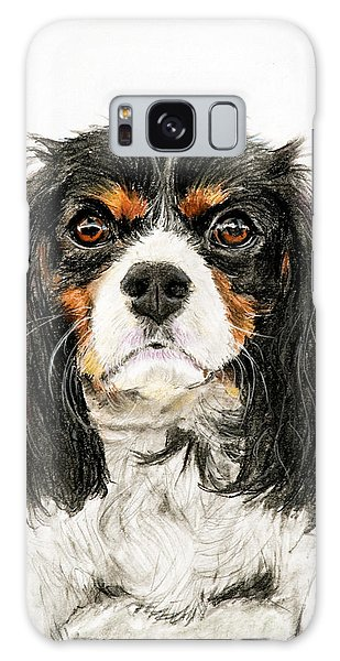 Cavalier King Charles Spaniel Painting Galaxy Case
