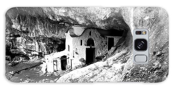 cave church on Mt Olympus Greece Galaxy Case by Nina Ficur Feenan