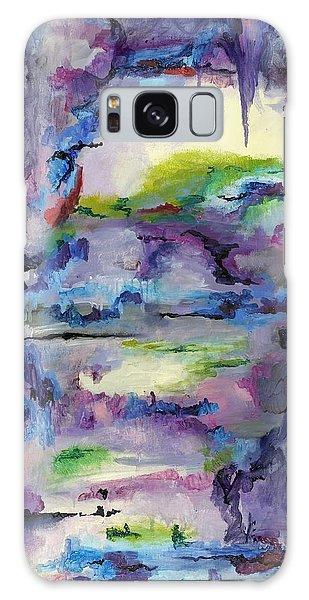 Cave Painting Galaxy Case by Regina Valluzzi