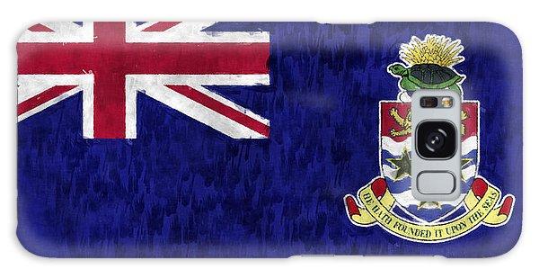 Bahamas Galaxy Case - Cayman Islands Flag by World Art Prints And Designs