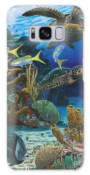 Parrot Galaxy S8 Case - Cayman Turtles Re0010 by Carey Chen