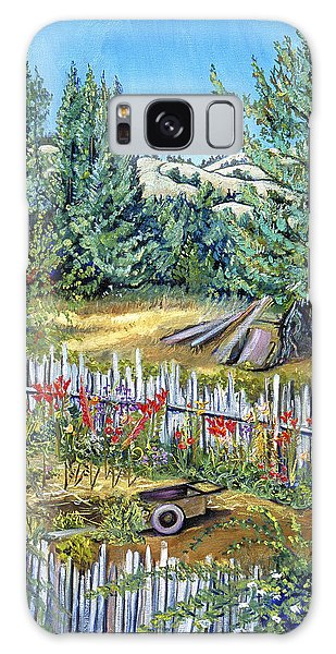Cazadero Farm And Flowers Galaxy Case