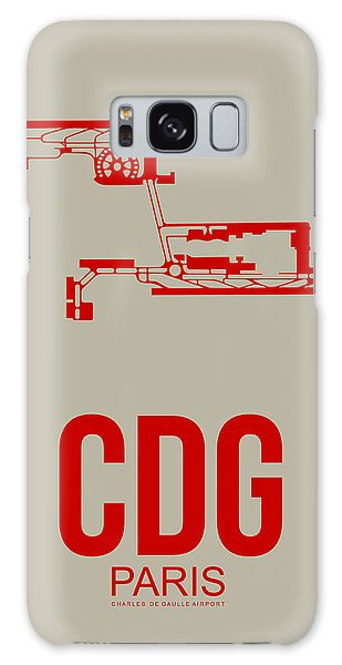 Cdg Paris Airport Poster 2 Galaxy Case by Naxart Studio