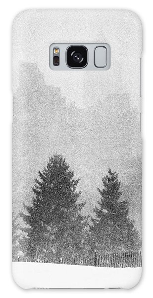 Cedar Hill Snow Shapes Galaxy Case by Dave Beckerman