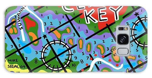 Cedar Key Chart Galaxy Case