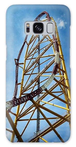 Cedar Point - Top Thrill Dragster Galaxy Case