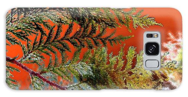 Cedar Canvas Galaxy Case by Gwyn Newcombe