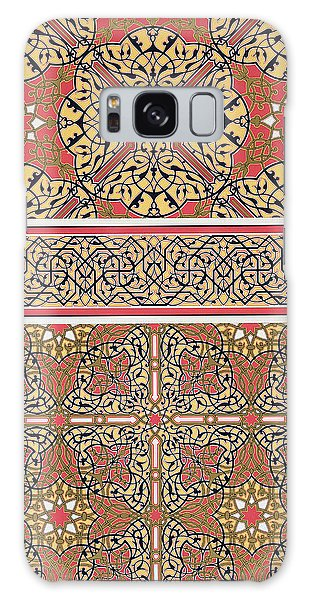 Decorative Galaxy Case - Ceiling Arabesques From The Mosque Of El-bordeyny by Emile Prisse d Avennes
