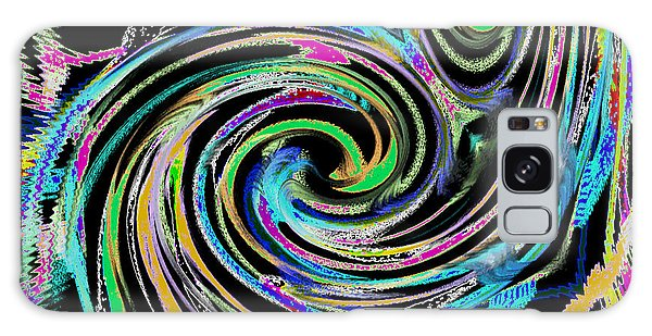 Celebration Night Galaxy Case by Roz Abellera Art