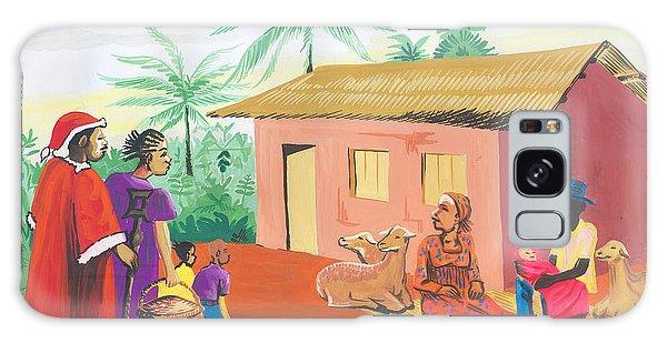 Celebration Of The Nativity In Cameroon Galaxy Case by Emmanuel Baliyanga
