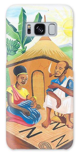 Celebration Of The Nativity In Rwanda Galaxy Case by Emmanuel Baliyanga