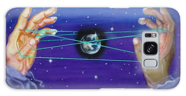 Celestial Cats Cradle Galaxy Case by Thomas J Herring