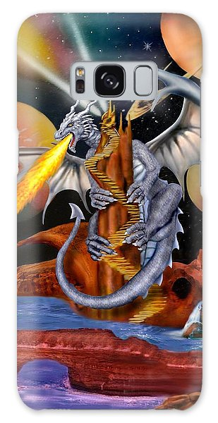 Celestian Dragon Galaxy Case