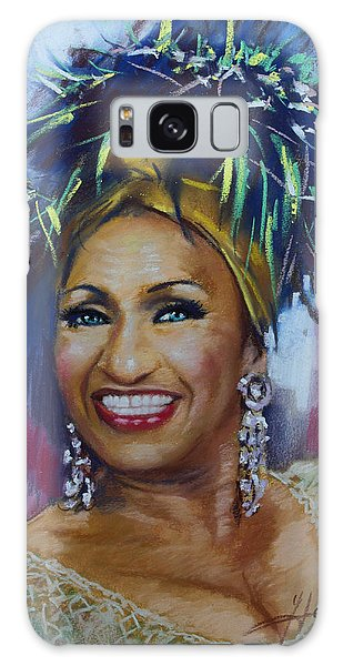 Celia Cruz Galaxy Case by Viola El