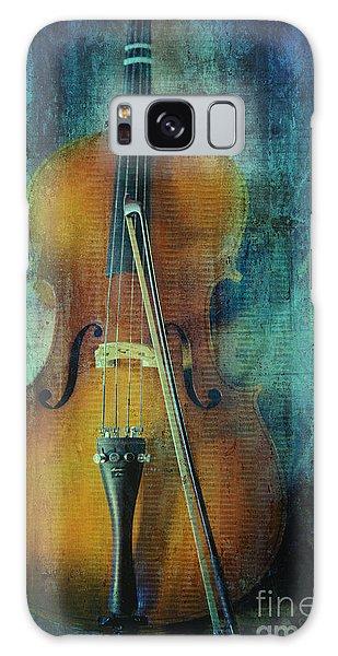 Cello  Galaxy Case by Erika Weber