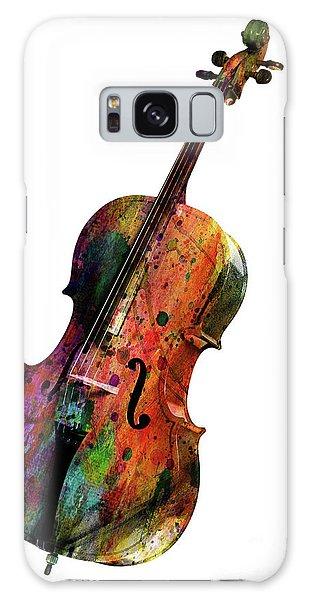 Saxophone Galaxy Case - Cello by Mark Ashkenazi