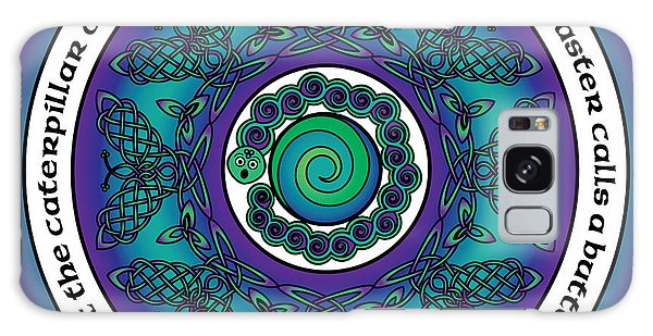 Celtic Butterfly Mandala Galaxy Case