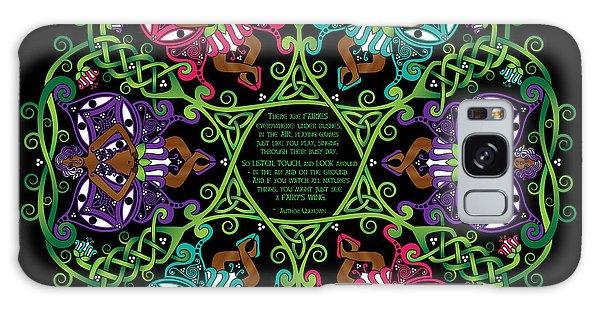 Celtic Fairy Mandala Galaxy Case