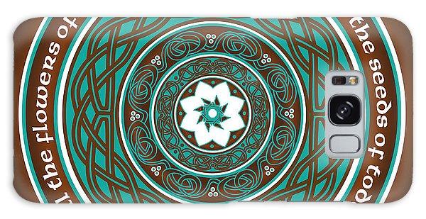 Celtic Lotus Mandala Galaxy Case