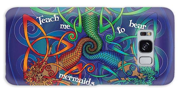 Celtic Mermaid Mandala Galaxy Case