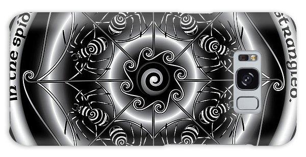 Celtic Spider Mandala Galaxy Case