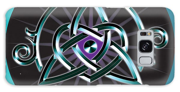 Celtic Triquetra Heart Galaxy Case