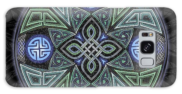 Celtic Ufo Mandala Galaxy Case by Kristen Fox