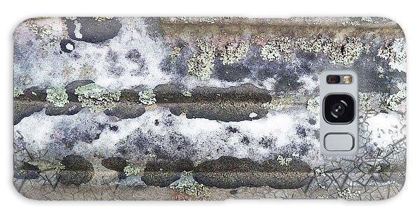 Cemetary Rock 1 Galaxy Case by Sally Simon